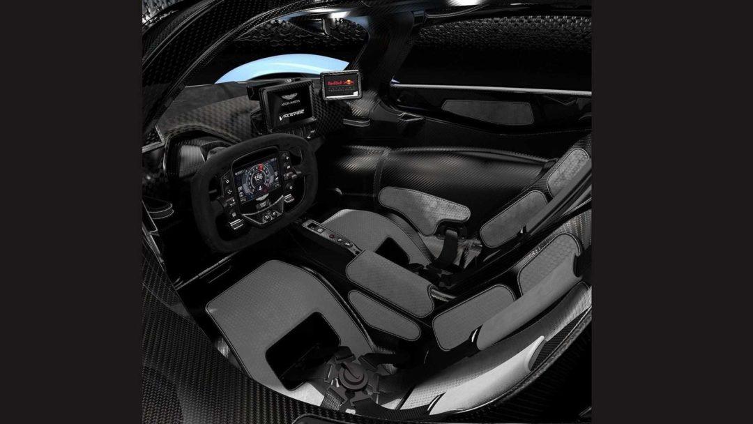 Cockpit Aston Martin Valkyrie (2019)