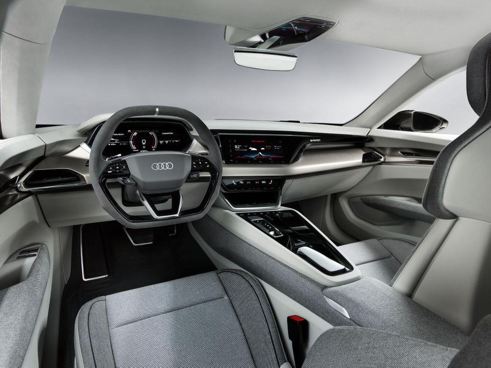 Intérieur Audi e-tron GT (2020)
