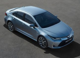 2019 Toyota Corolla berline