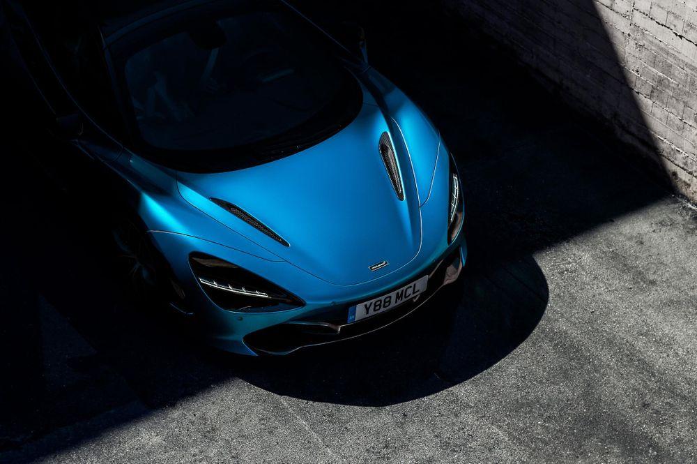 Teaser de la McLaren 720S Spider