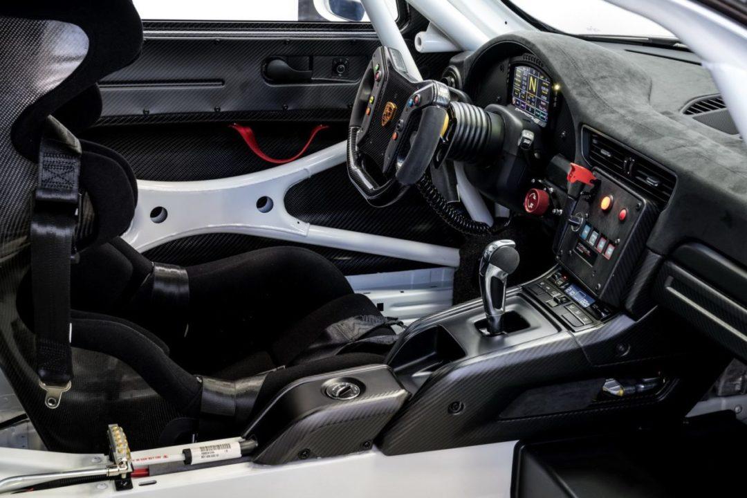 Intérieur / Cockpit de la nouvelle Nouvelle 911 GT2 RS Clubsport