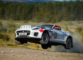Jaguar F-Type Rallye