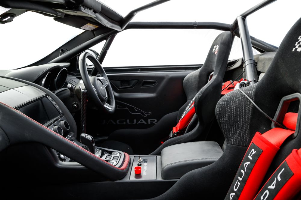 Intérieur Jaguar F-Type rallye