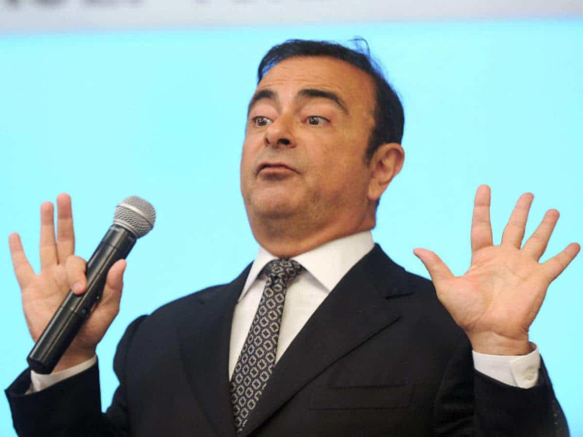 Carlos Ghosn dans l'enquête le reliant à Nissan