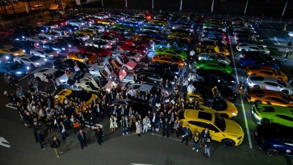 Lamborghini Day Japan pour fêter l'arrivée de la nouvelle Aventador SVJ