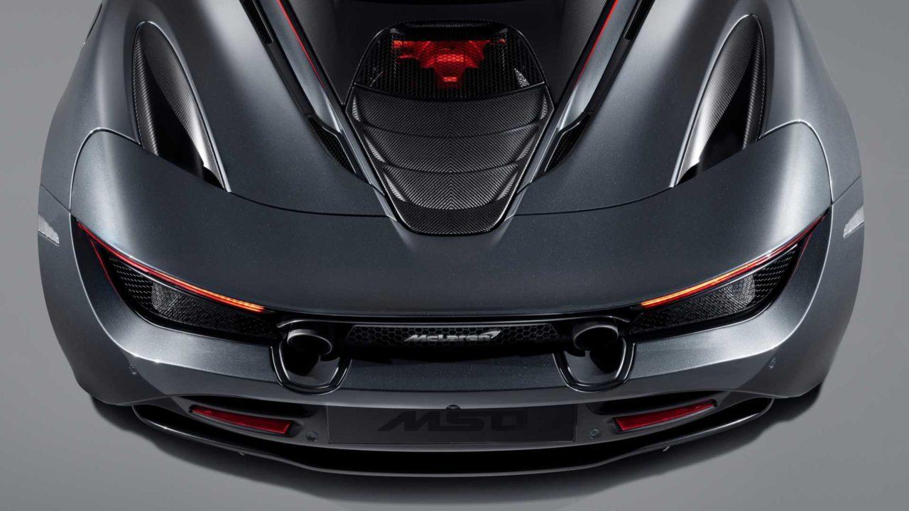 Echappement McLaren MSO 720S Stealth