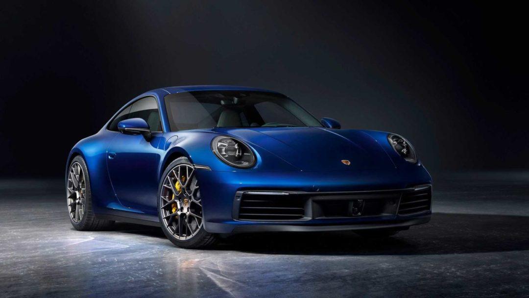 Nouvelle Porsche 911 (992)