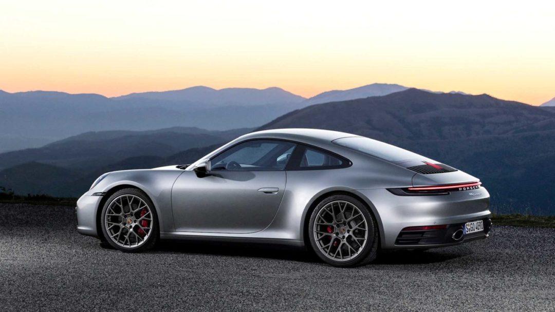 Arrière Nouvelle Porsche 911 (992)
