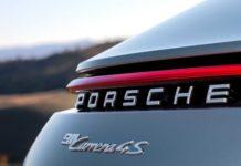 Nouvelle Porsche 911 (992) feux arriere
