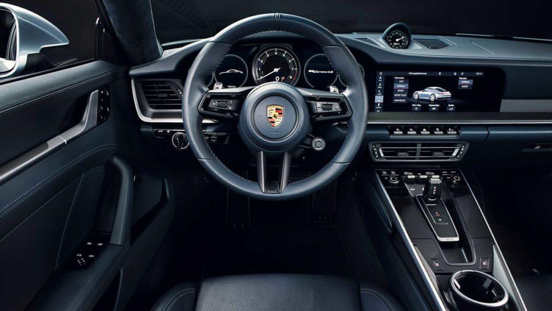 Interieur Nouvelle Porsche 911 (992) (2)