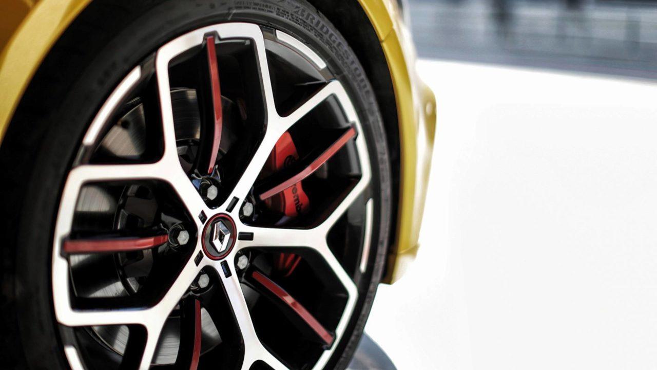 Jantes de la Renault Mégane RS Trophy 300