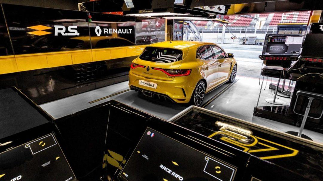 Arrière de la Renault Mégane RS Trophy 300