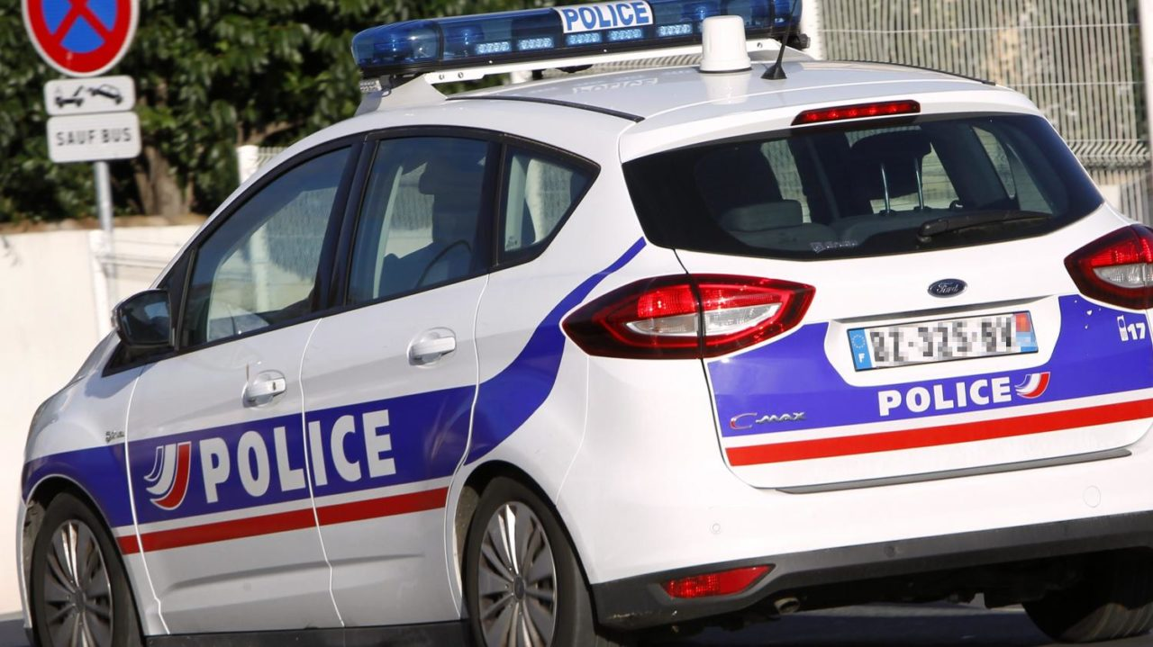 Voiture de police Ford