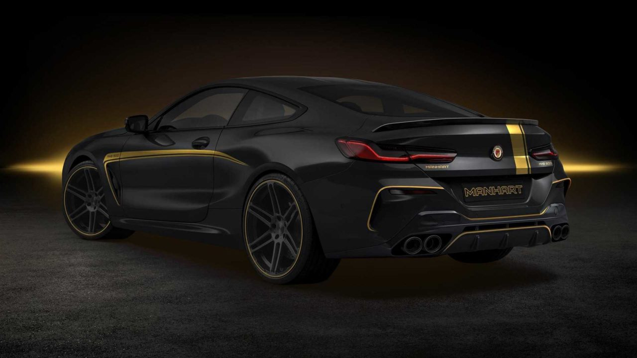 La BMW M8 par Manhart