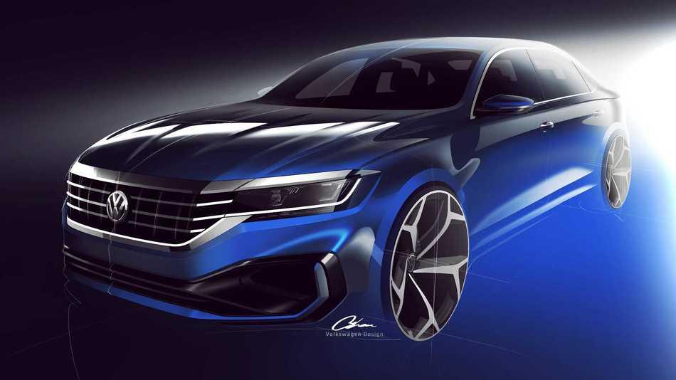 US 2020 Volkswagen Passat