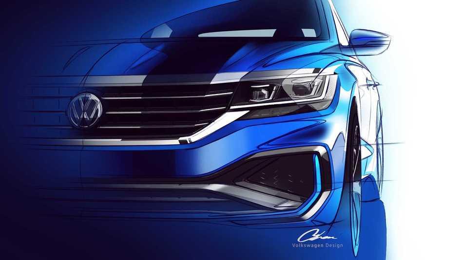 US 2020 Volkswagen Passat : salon de Genève