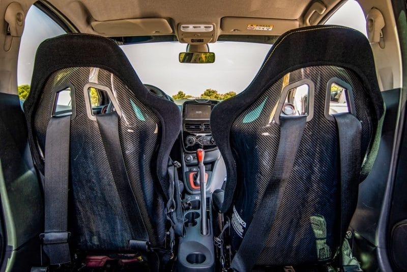 Sièges carbone Gamme Accessoires RS Performance
