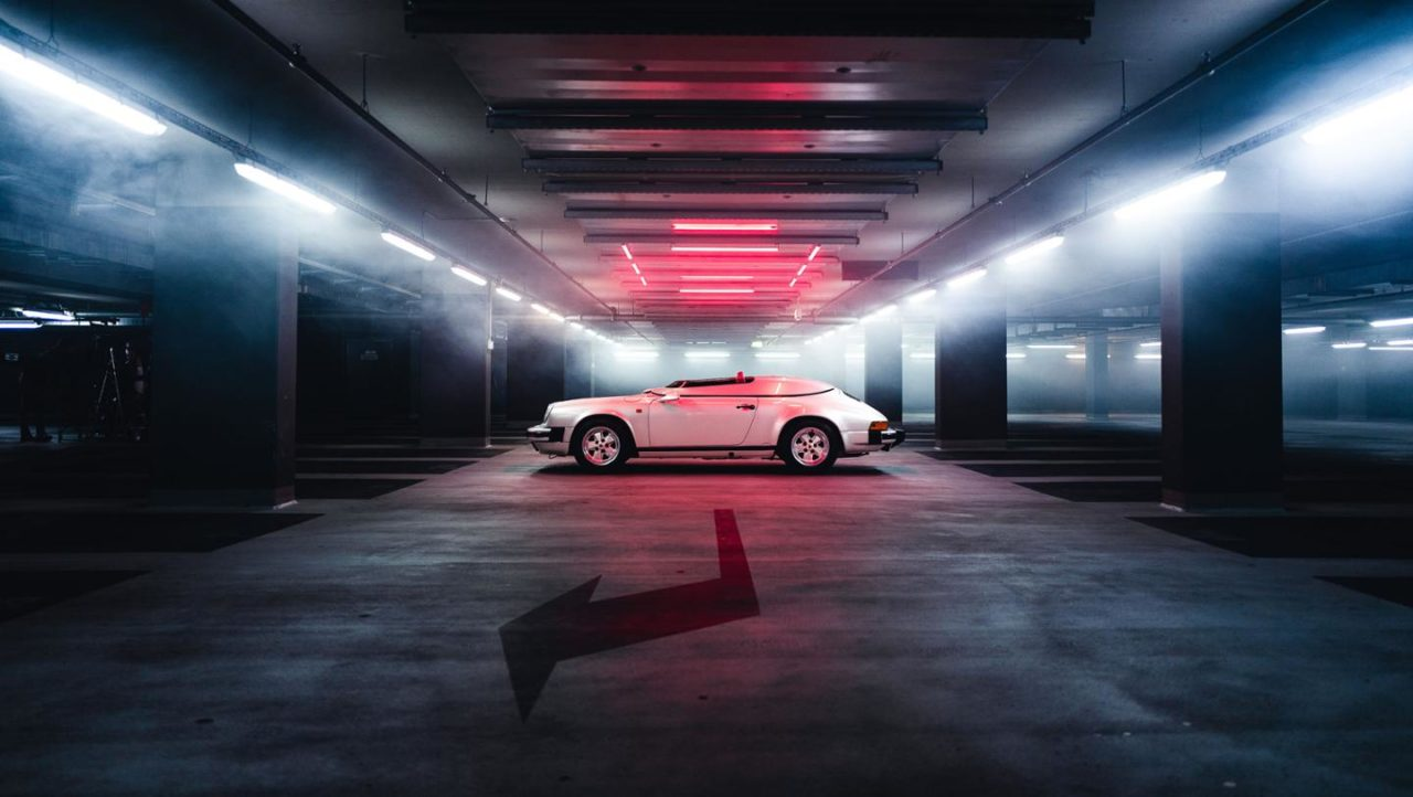 Porsche speedster - pas de toit ni de pare-brise