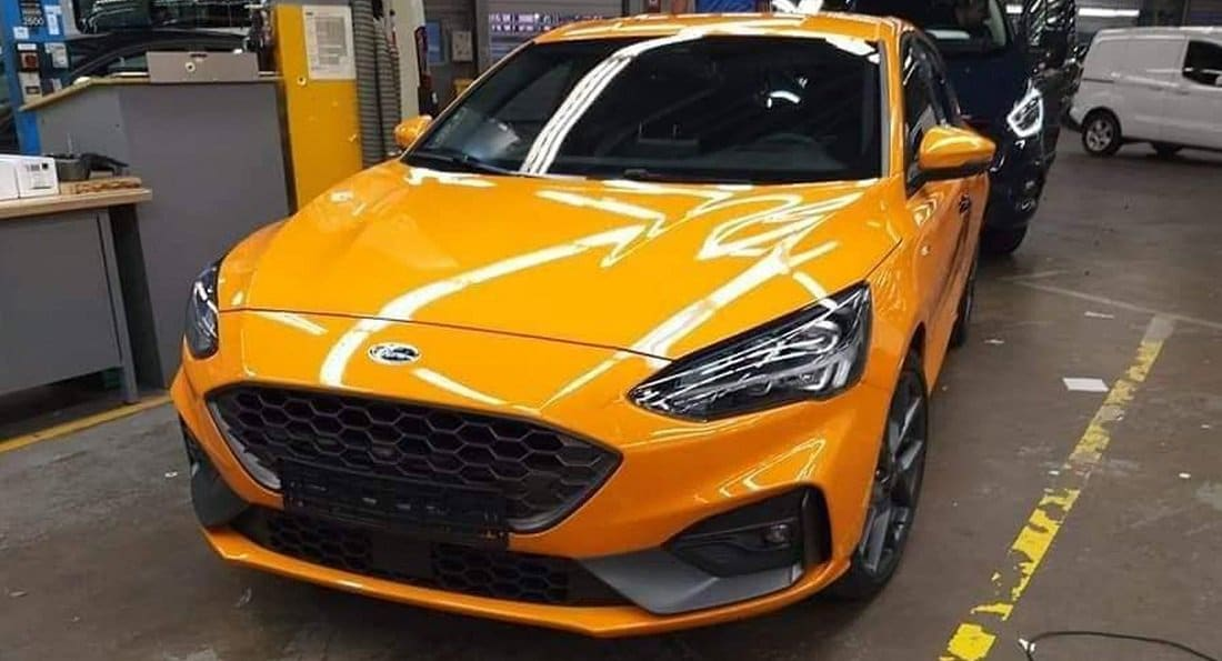 Ford Focus ST (2019) sans camouflage