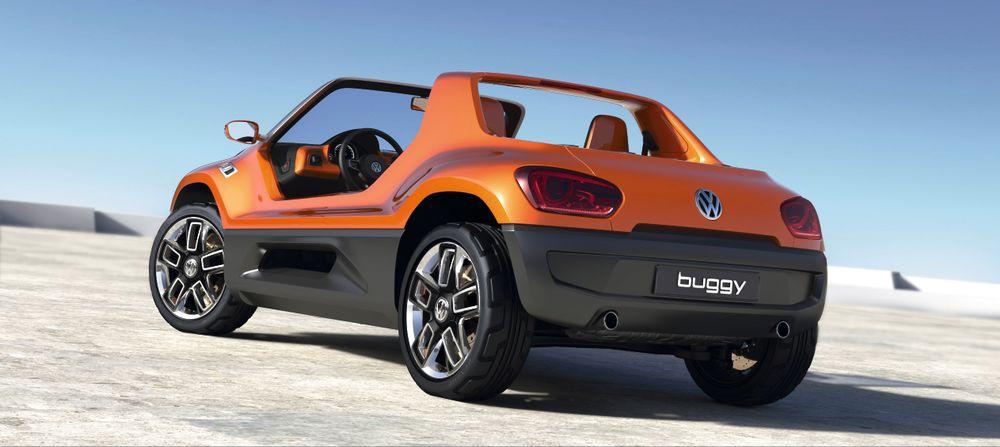 Buggy électrique VW