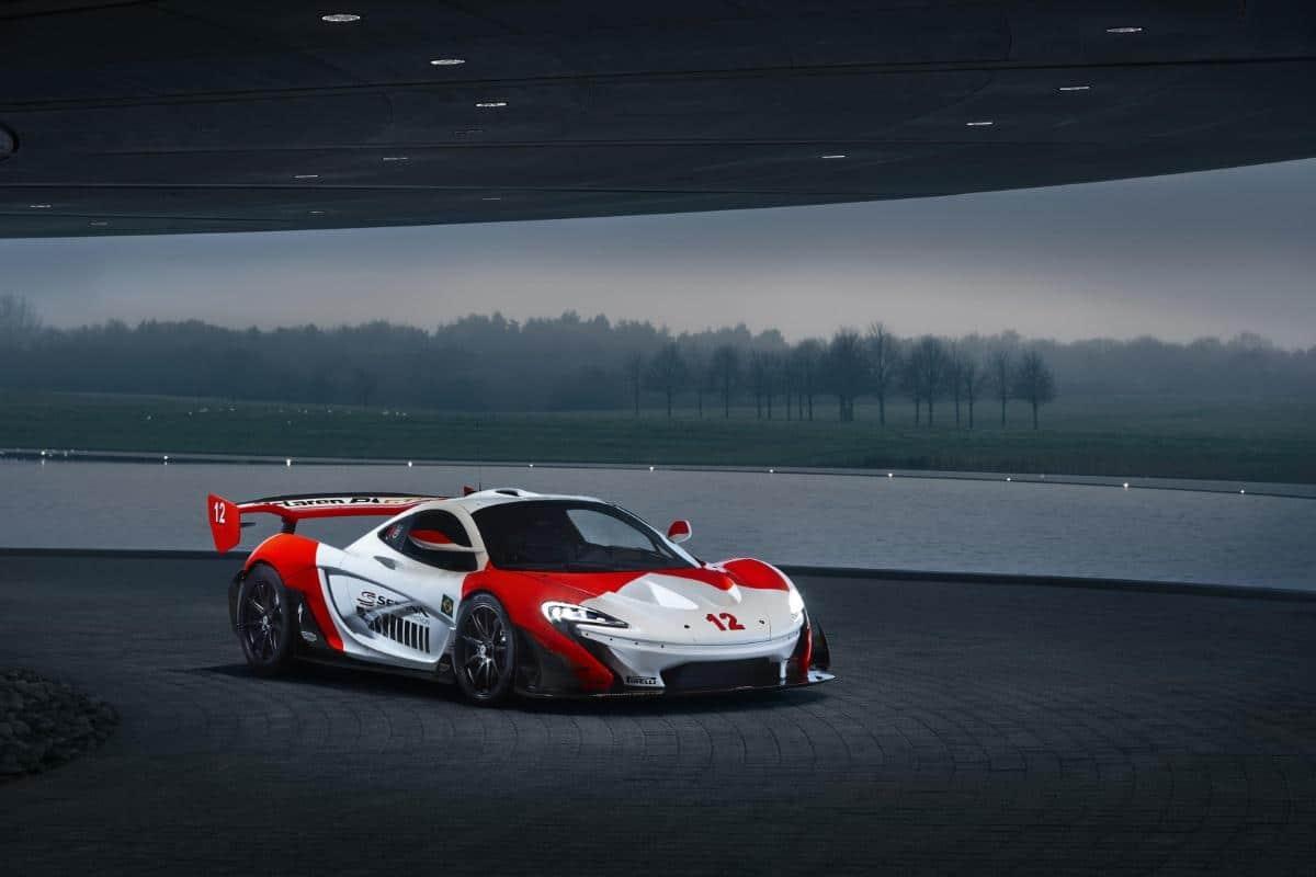 McLaren P1 GTR Marlboro