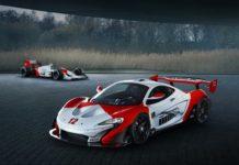 McLaren P1 GTR en hommage à Ayrton Senna et sa MP4/4