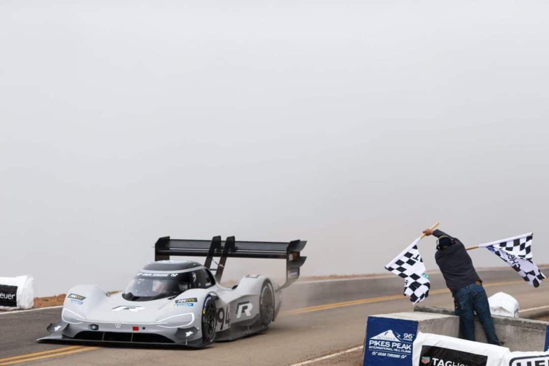 Victoire de la Volkswagen ID R à Pikes Peak