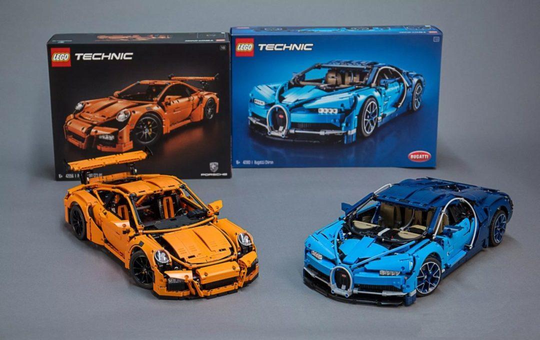 LEGO Technic : Bugatti Chiron et Porsche 911 GT3 RS