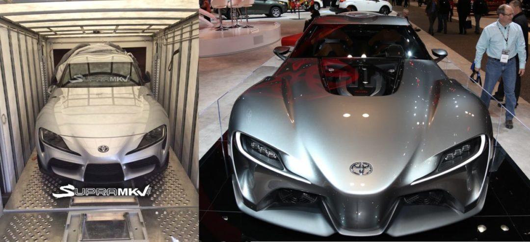 Comparaison entre la Toyota Supra (2020) et la Toyota FT-1 Concept