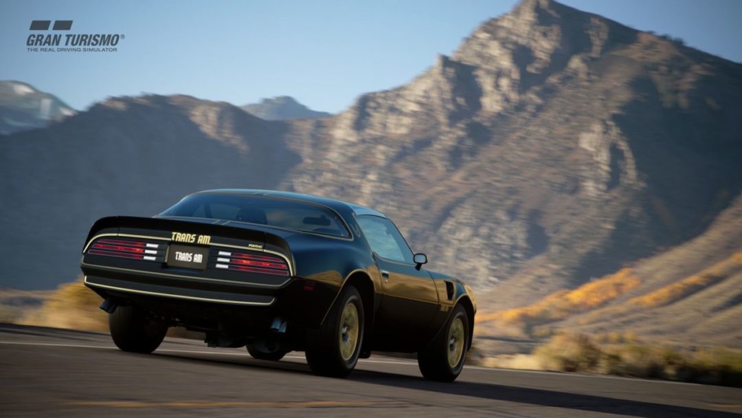 GT Sport patch 1.31 - Pontiac Firebird Trans Am (1978)