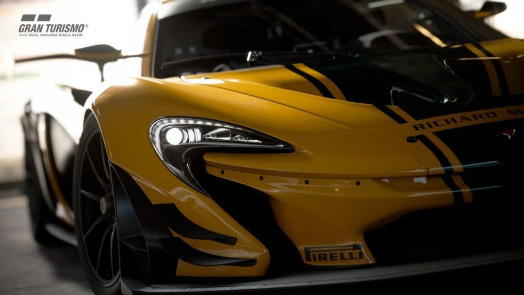 GT Sport patch 1.31 - McLaren P1 GTR(2016)