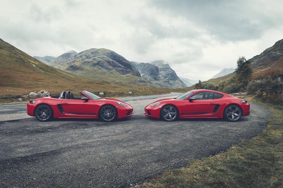 2019 Porsche 718 Cayman et Boxster T