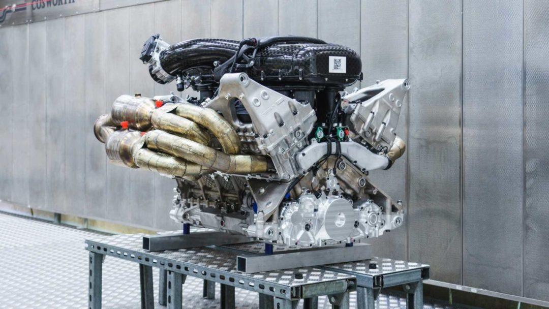 Moteur V12 Cosworth de l'Aston Martin Valkyrie