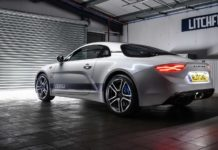 Alpine A110 Litchfield avec un stage 1 à 300 ch