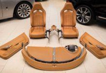 Intérieur Bugatti Veyron