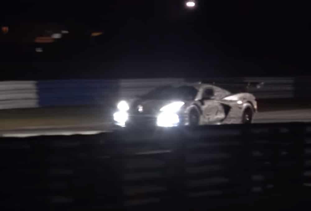 La Corvette C8.R a été aperçue sur circuit