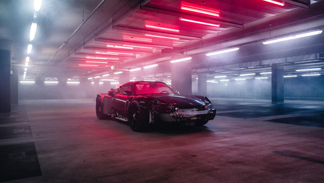 "La Porsche 918 façon ""Mad-Max"". L'ultime des Prototypes"