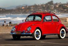 La Beetle de Kathleen Brooks une fois restaurée