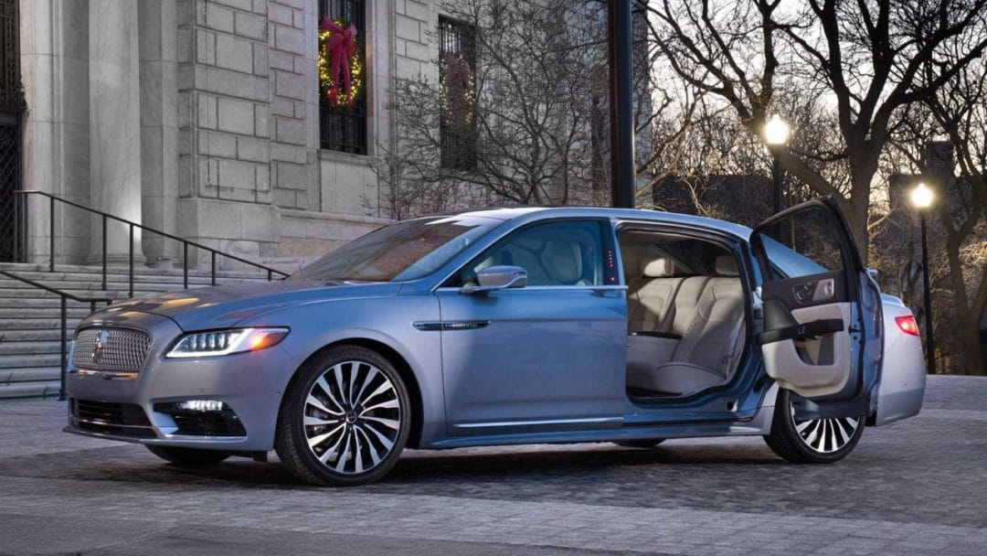 Une version spéciale de la Lincoln Continental pour les 80 ans de la marque