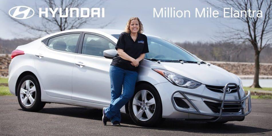 Une Hyundai Elantra avec un million de miles