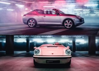 Porsche concept prototype