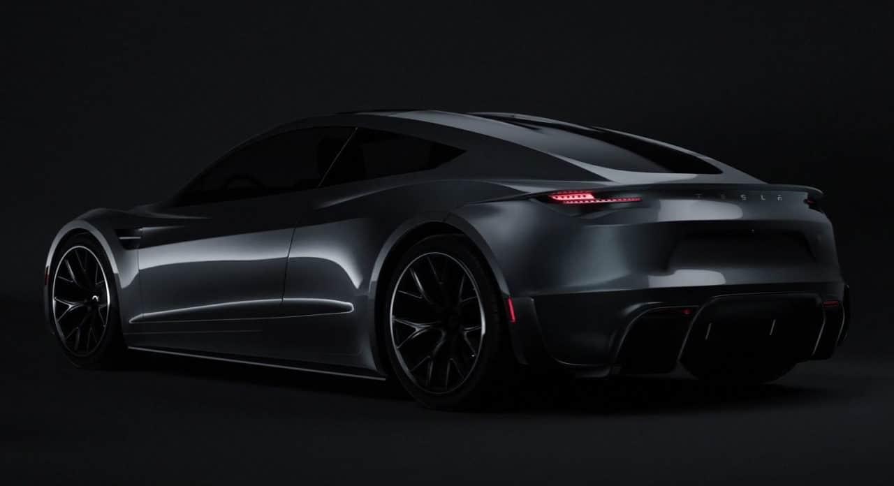 Tesla Roadster (2020) par The Yazuki