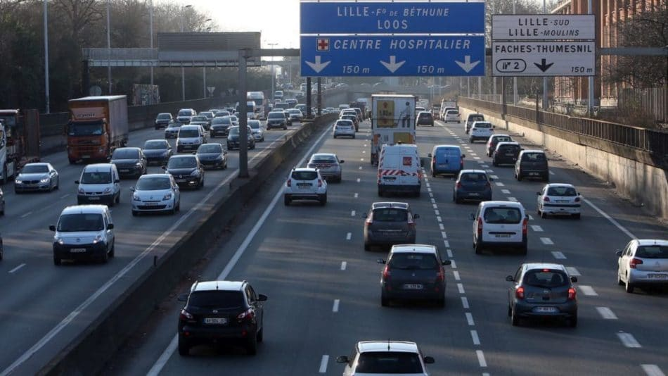 Limitation de vitesse périphérique Lille