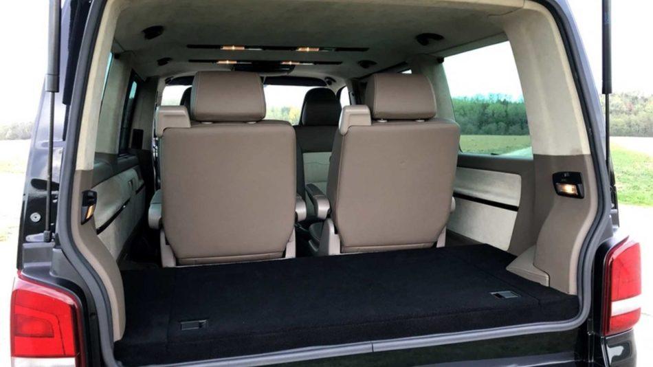 Volkswagen Multivan avec moteur de Porsche 911 Turbo
