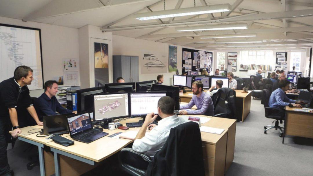 Bureau R&D de Morgan