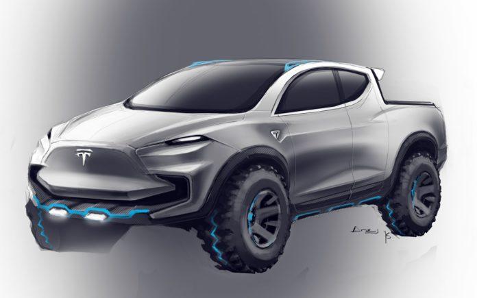 Un pick-up électrique pour 2019 chez tesla ?