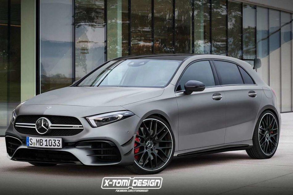 A45 AMG 2019 rendu 3D