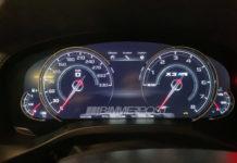 Instrumentation BMW X3 M