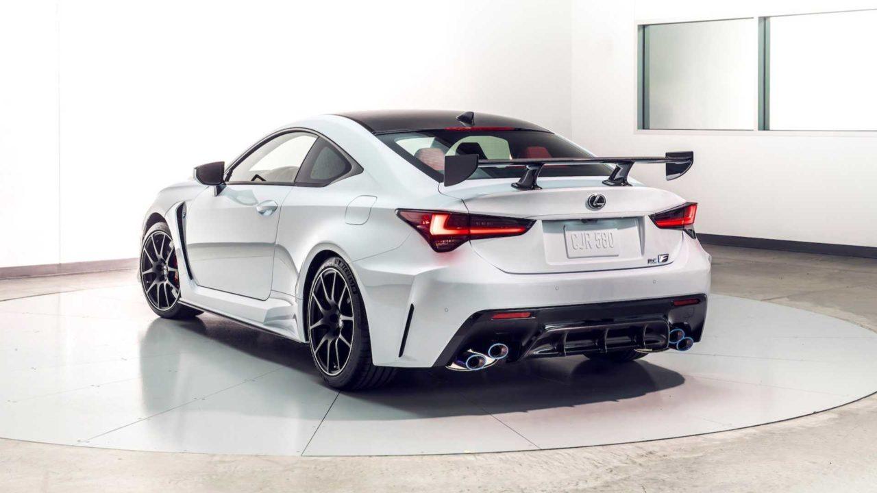 Nouvelle Lexus RC F Track Edition (2019)