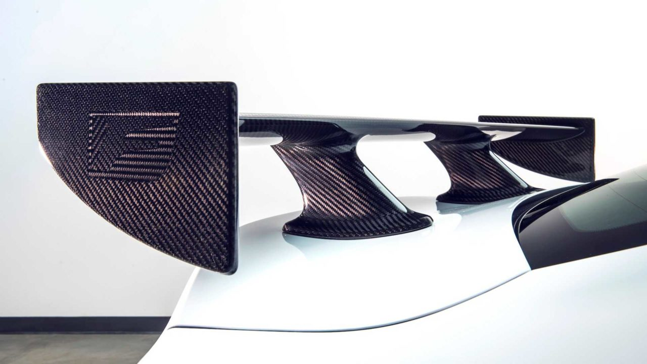 Nouvelle Lexus RC F Track Edition (2019) avec aileron en fibre de carbone